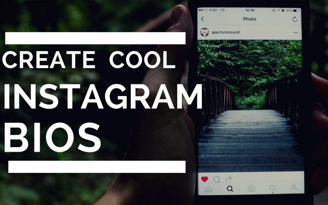 Making Impressive Instagram Bios