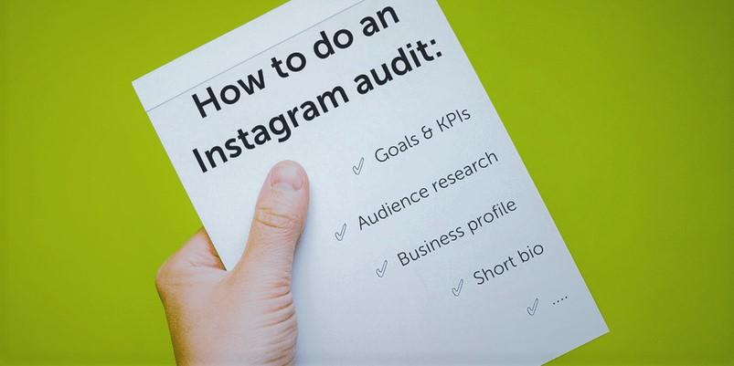Running an Instagram Audit